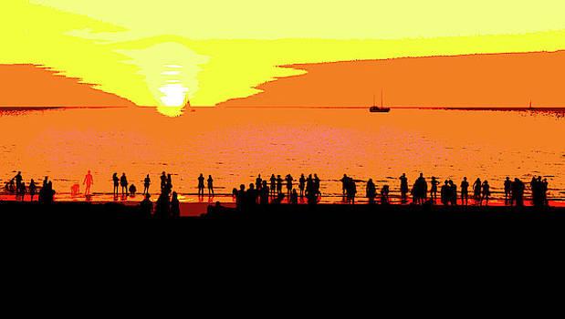 Mindil Beach Sunset #4  - Pop Art by Lexa Harpell