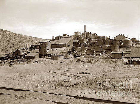 California Views Archives Mr Pat Hathaway Archives - Gold Mine at Barstow Circa 1912