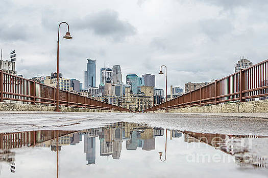 Minneapolis Reflection by Habashy Photography