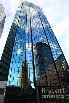Minneapolis Skyline ATT Tower, IDS Tower  by Wayne Moran