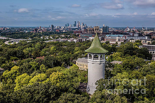 Minneapolis Witch's Hat Tower by Habashy Photography