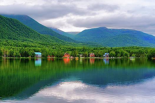Mirror Lake Alaska by Dee Browning