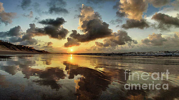 Mirrored Beach by DJA Images