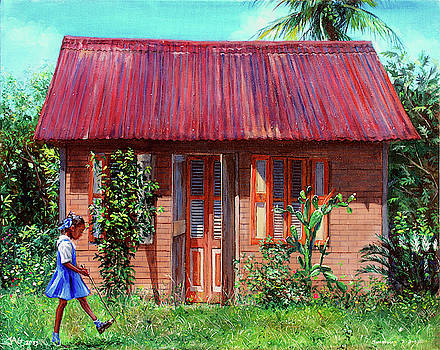 Miss Sylvian's House by Jonathan Guy-Gladding JAG