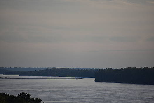 Mississippi River At Dusk by Muri McCage