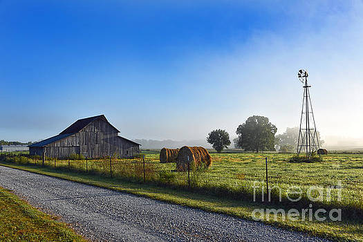 Missouri Barn at Early Morning by Catherine Sherman