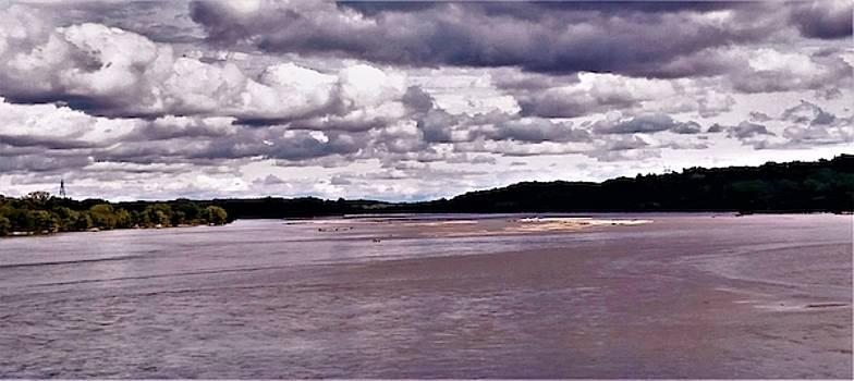 Missouri River by Peggy Leyva Conley