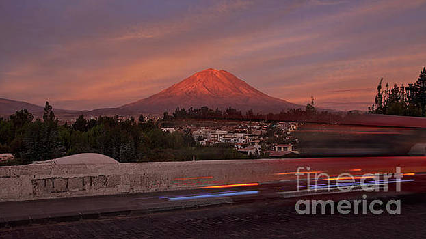 Misti Volcano in Arequipa, Peru, South America by Sam Antonio Photography