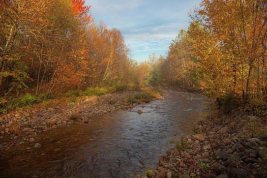 Cliff Wassmann - Misty Morning Fall River