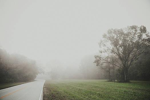 Misty Road by Hyuntae Kim