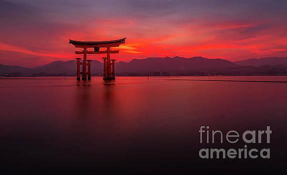 Miyajima Sunset by Paul Woodford