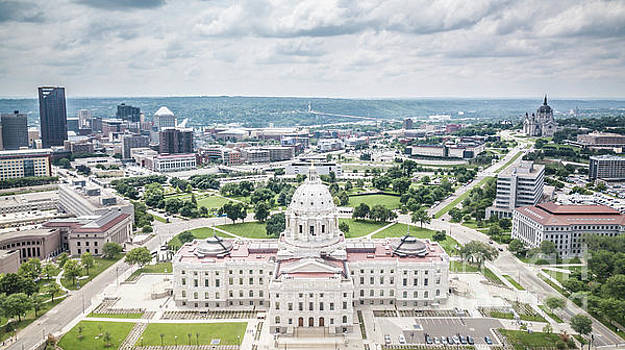 MN Capitol Mall View by Habashy Photography