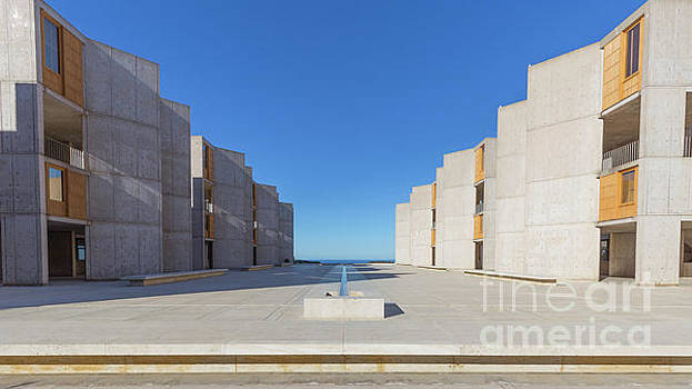 Modern Buildings Salk Institute San Diego California by Edward Fielding