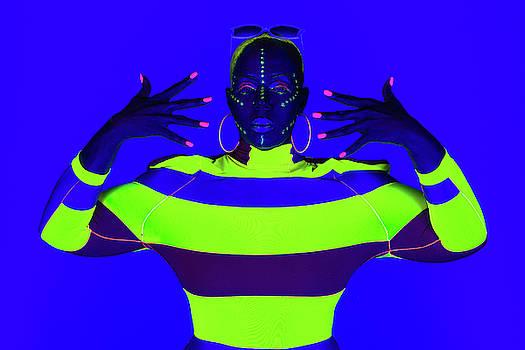 Dennis Dame - Modern Neon Portrait