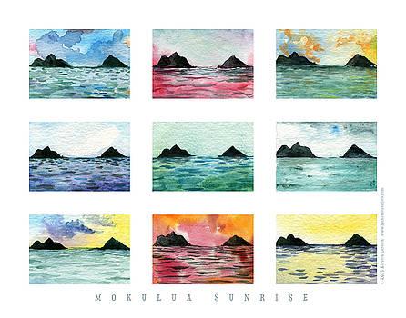 Mokes Poster, series 0 print by Kirsten Carlson
