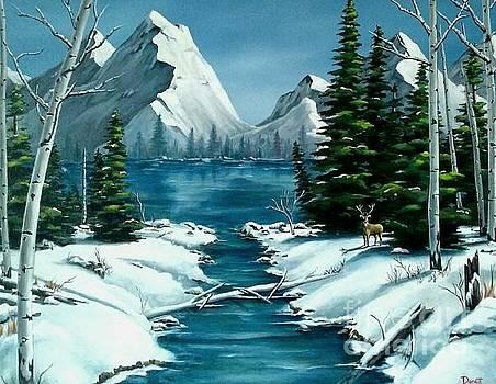 MOMMA's Winter Paradise  by Danett Britt