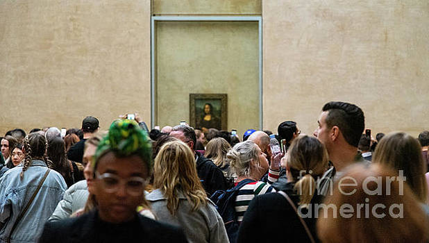 Wayne Moran - Mona Lisa Leonardo da Vinci Louvre Paris France