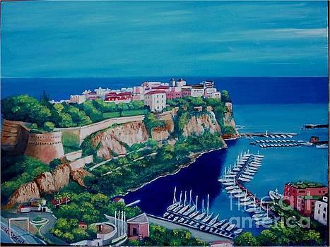 Monaco by Jean Pierre Bergoeing