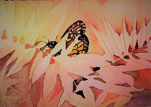 Monarch in Autumn by Mindy Newman
