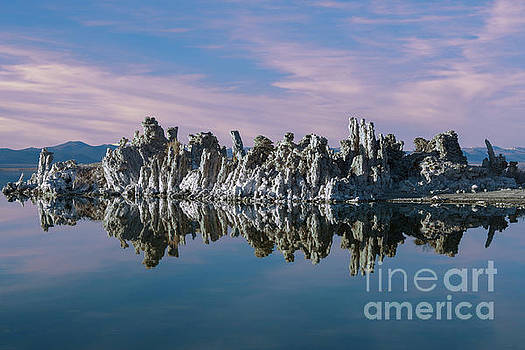Mono Lake Sunset by Sandra Bronstein