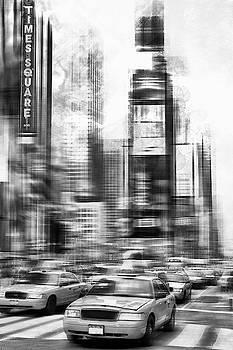 Melanie Viola - Monochrome Art TIMES SQUARE