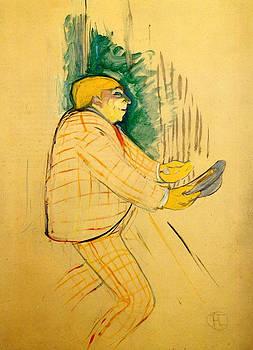 Monsieur Praince - 1893 - PC - Painting - oil on cardboard by Henri de Toulouse-Lautrec