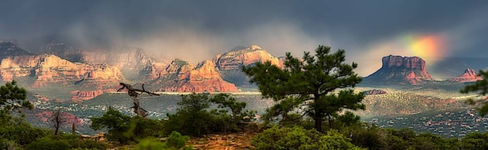 Monsoon In Sedona by Stacy Burk