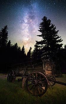 Montana Relic / Seeley Lake, Montana  by Nicholas Parker