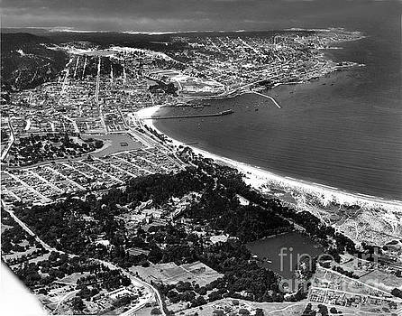 California Views Archives Mr Pat Hathaway Archives - Monterey Bay, Hotel Del Monte to Point Pinos 1935