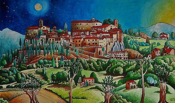 Montone by moonlight by Neal Winfield