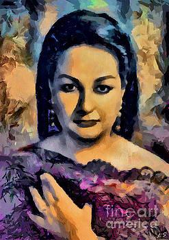 Montserrat Caballe collection - 1 by Sergey Lukashin