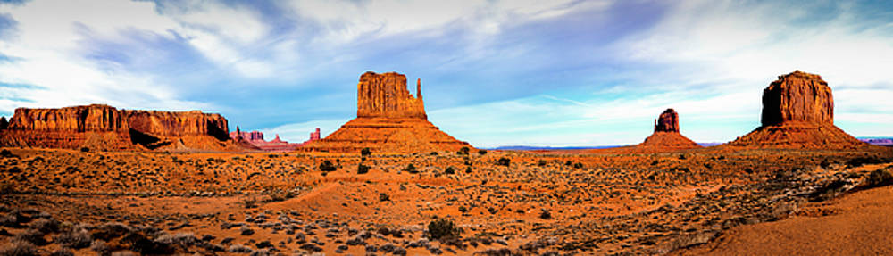 Monument Valley by David Morefield