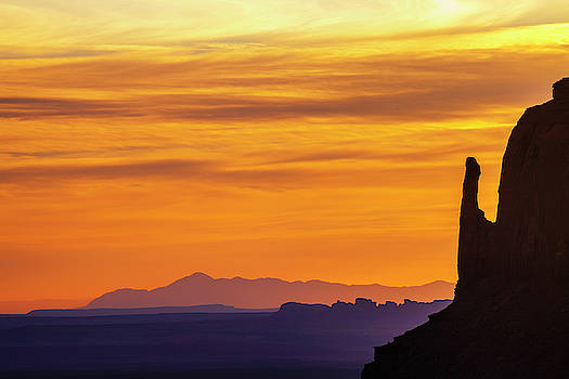 Monument Valley Morning by Andrew Soundarajan