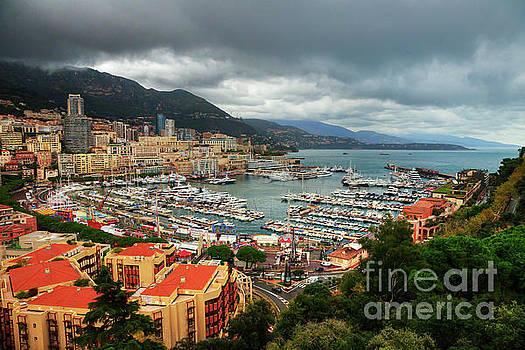 Moody Port Hercules Monte Carlo Monaco by Wayne Moran