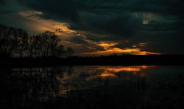 Moody Sunset by Tailor Hartman