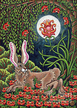 Amy E Fraser - Moon Gazing Hare 2