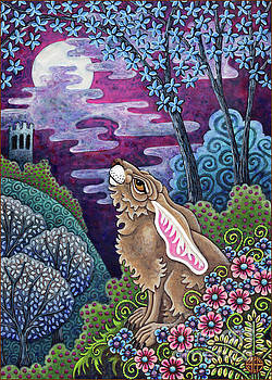 Amy E Fraser - Moon Gazing Hare 3
