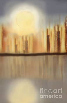 Sharon Williams Eng - Moon Over the City