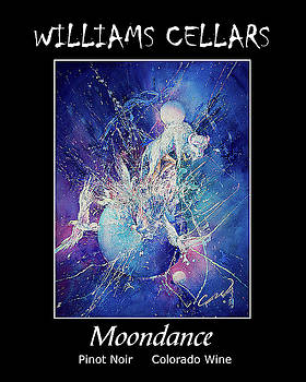 Moondance Wine Label by Williams Cellars