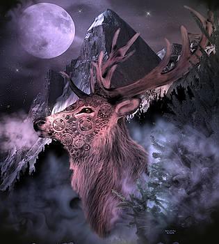 Moonlight Buck by Artful Oasis