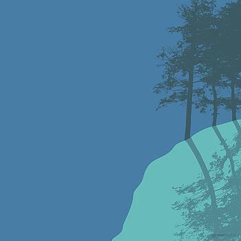 Erin Thomas - Moonlight on Mount Aggie