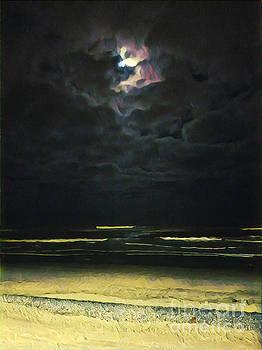 Moonlight On The Strand 2  by Tammera Malicki-Wong