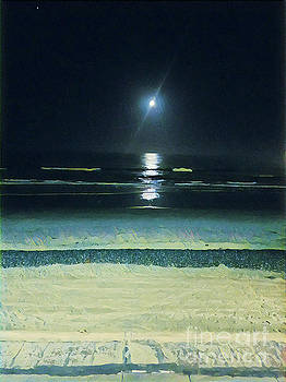 Moonlight On The Strand  by Tammera Malicki-Wong