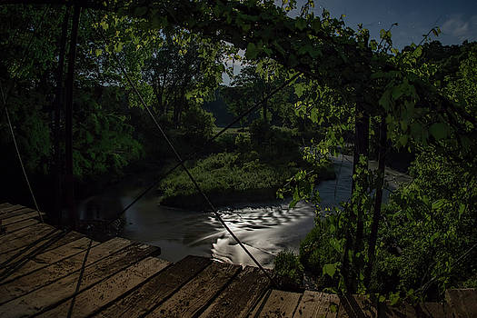 Moonlit Creek by Ray Congrove