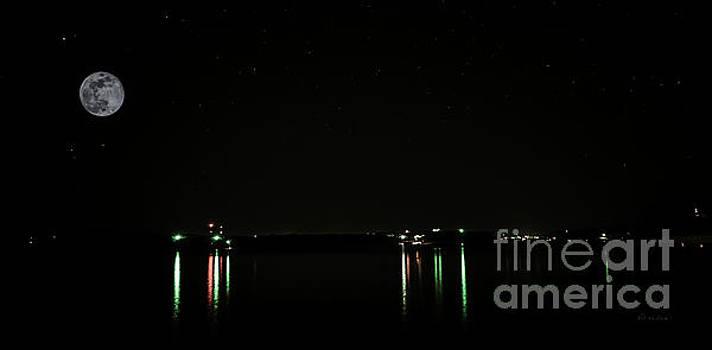 Ricardos Creations - Moonlit Medina Lake San Antonio TX 8364A