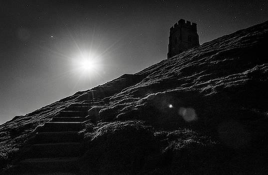 Moonlit Tor by Kev Pearson