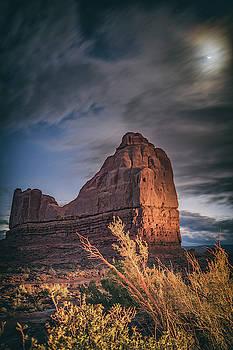 Moonrise in Utah by Marybeth Kiczenski