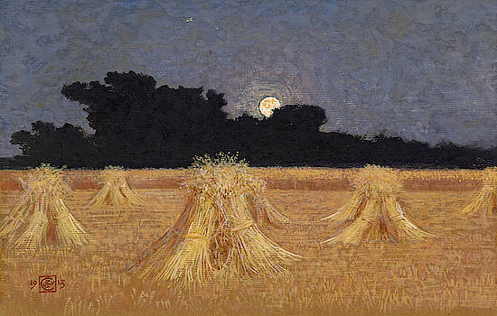 Walter Crane - Moonrise