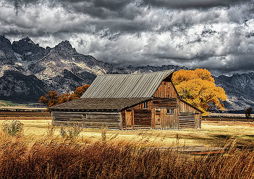 Wes and Dotty Weber - Mormon Row Barn
