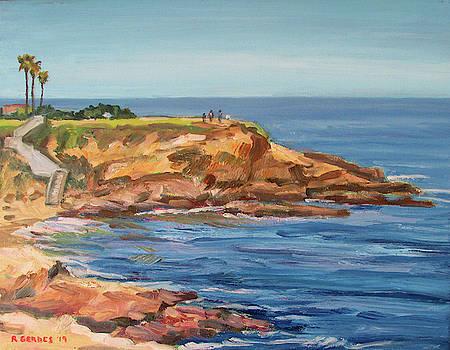 Morning at La Jolla Cove by Robert Gerdes